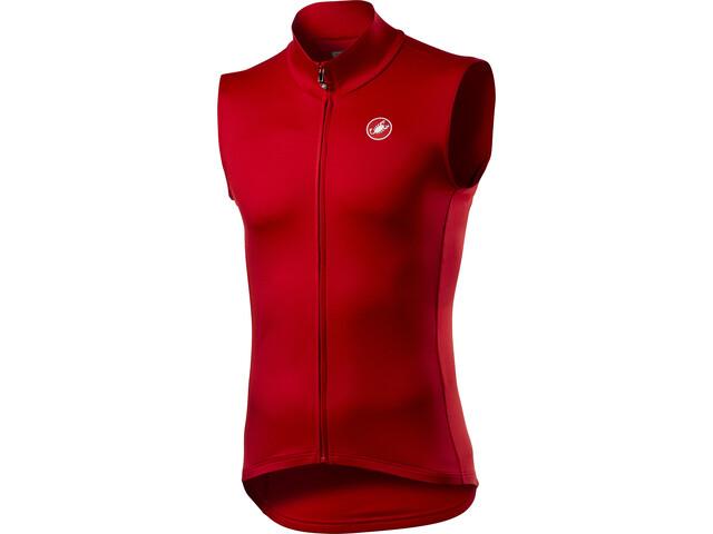 Castelli Pro Thermal Mid Vest Men red